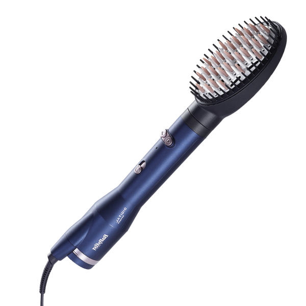 Brosse soufflante cheveux courts